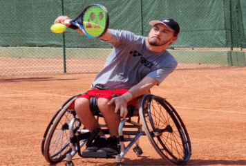 José Pablo Gil debuta con triunfo en el Wheelchair de Brasil