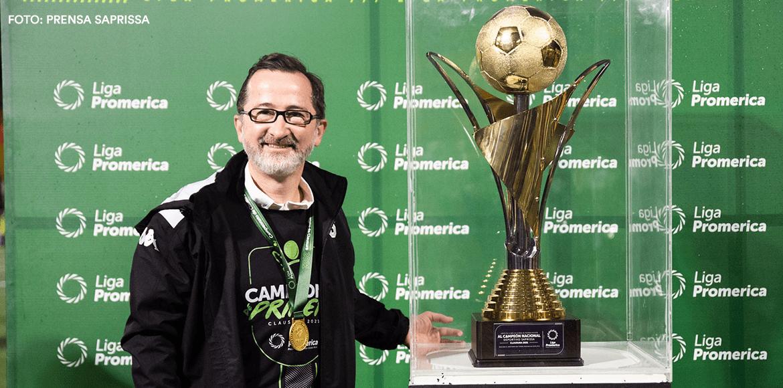 Juan Carlos Rojas: «Vamos por la 37»