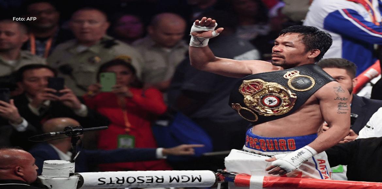 Estrella filipina Manny Pacquiao anuncia su retirada del boxeo