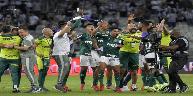 Palmeiras finalista de la Libertadores al eliminar al poderoso Atlético Mineiro