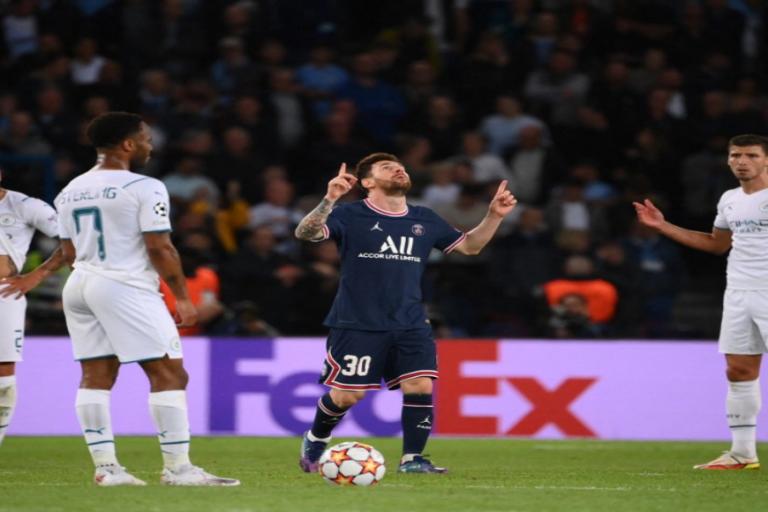 Messi ya celebra con un PSG que gana al City en la Champions