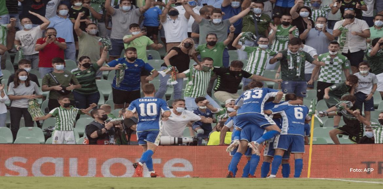 Victoria del Betis y empate de Real Sociedad en su inicio en Europa League