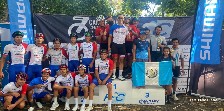 Costa Rica se llenó de medallas y sumó 216 puntos UCI en el Centroamericano de El Salvador