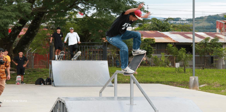 Segunda fecha del Campeonato de Skate dejó muchas emociones y trucos