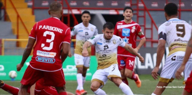 Santos y San Carlos se repartieron los puntos en el Ebal Rodríguez