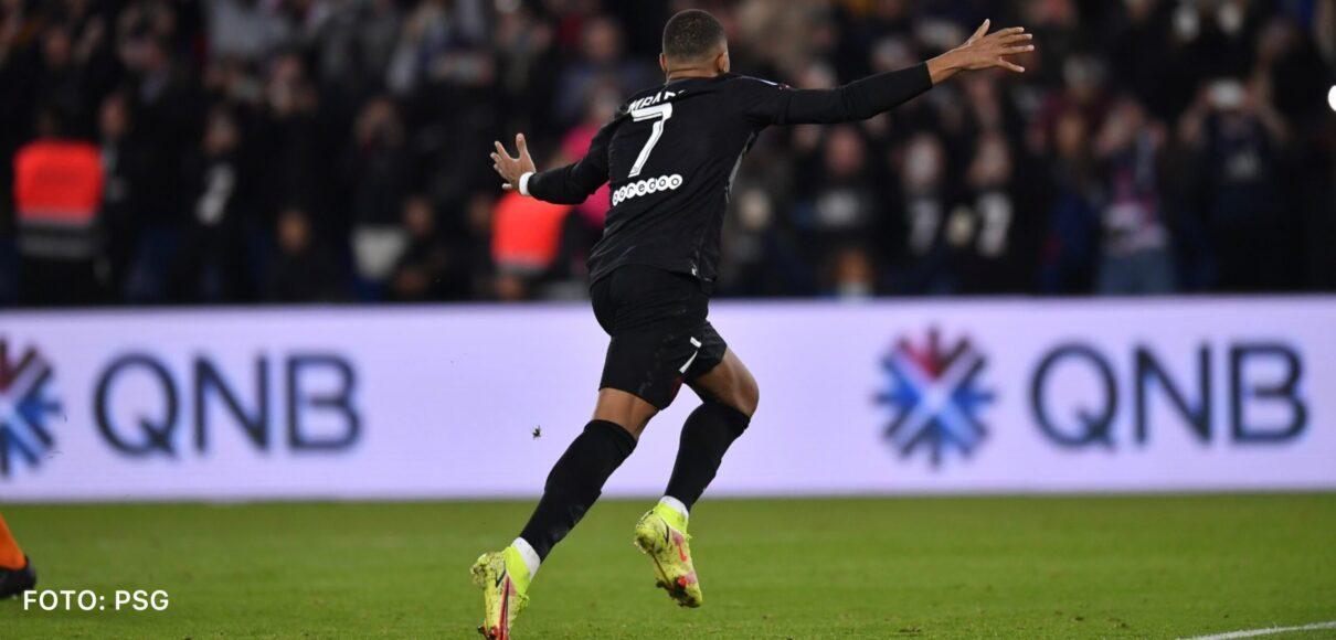 Mbappé lideró remontada del PSG con gol y asistencia ante el Angers