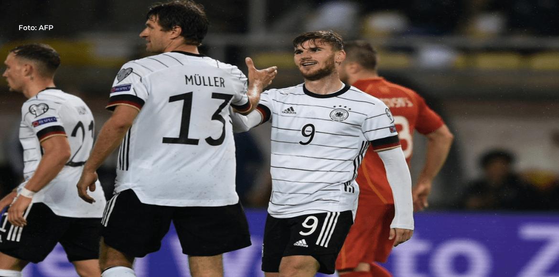 Alemania saca billete a Mundial-2022, primera nación en lograrlo vía fase de clasificación