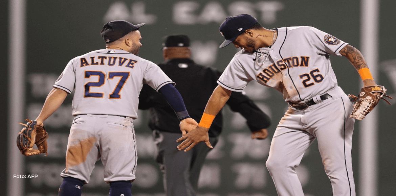 Astros toman ventaja en Campeonato de la Americana con triunfo de 9×1 sobre Boston
