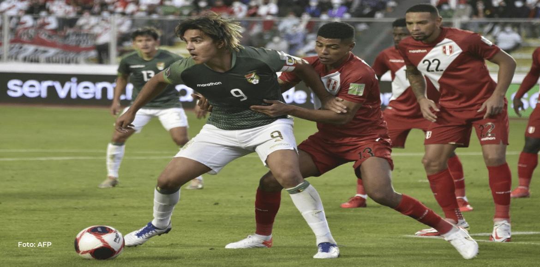 Bolivia vence 1-0 a Perú en La Paz y toma oxígeno en la clasificatoria sudamericana
