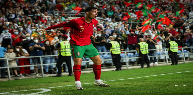 Con triplete de Cristiano Portugal golea a Luxemburgo