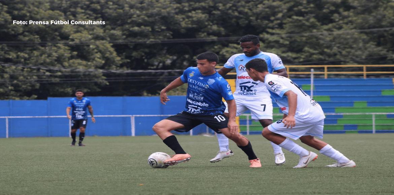 Santa Ana logra victoria de visita y complica a Fútbol Consultans