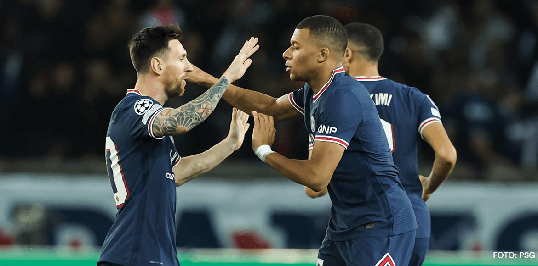 Messi y Mbappé lideraron remontada del PSG ante Leipzig en Champions