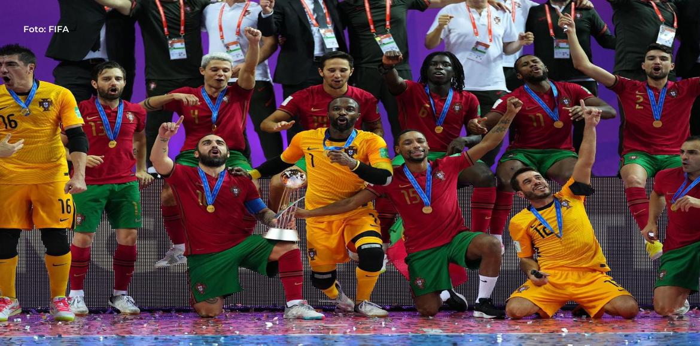 Portugal se coronó campeón mundial de Fútsal en Lituania