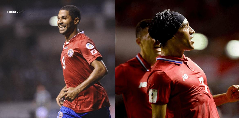 Álvaro Saborío y Christian Bolaños son convocados de última hora a la Selección Nacional