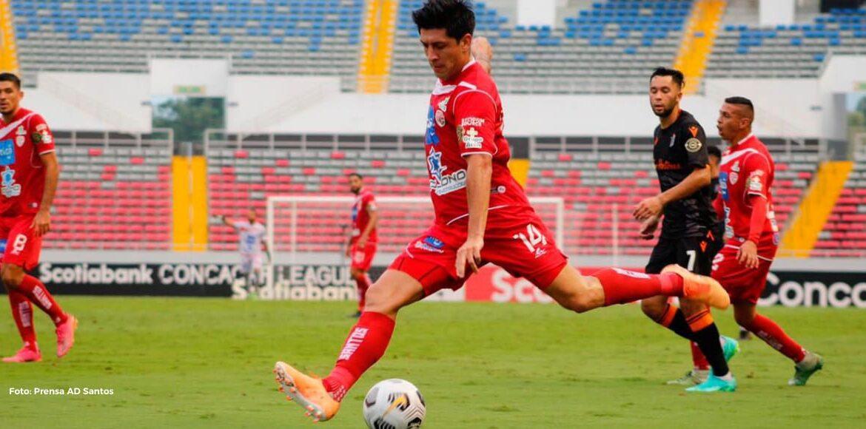 Santos venció al Forge y tomó ventaja en la serie